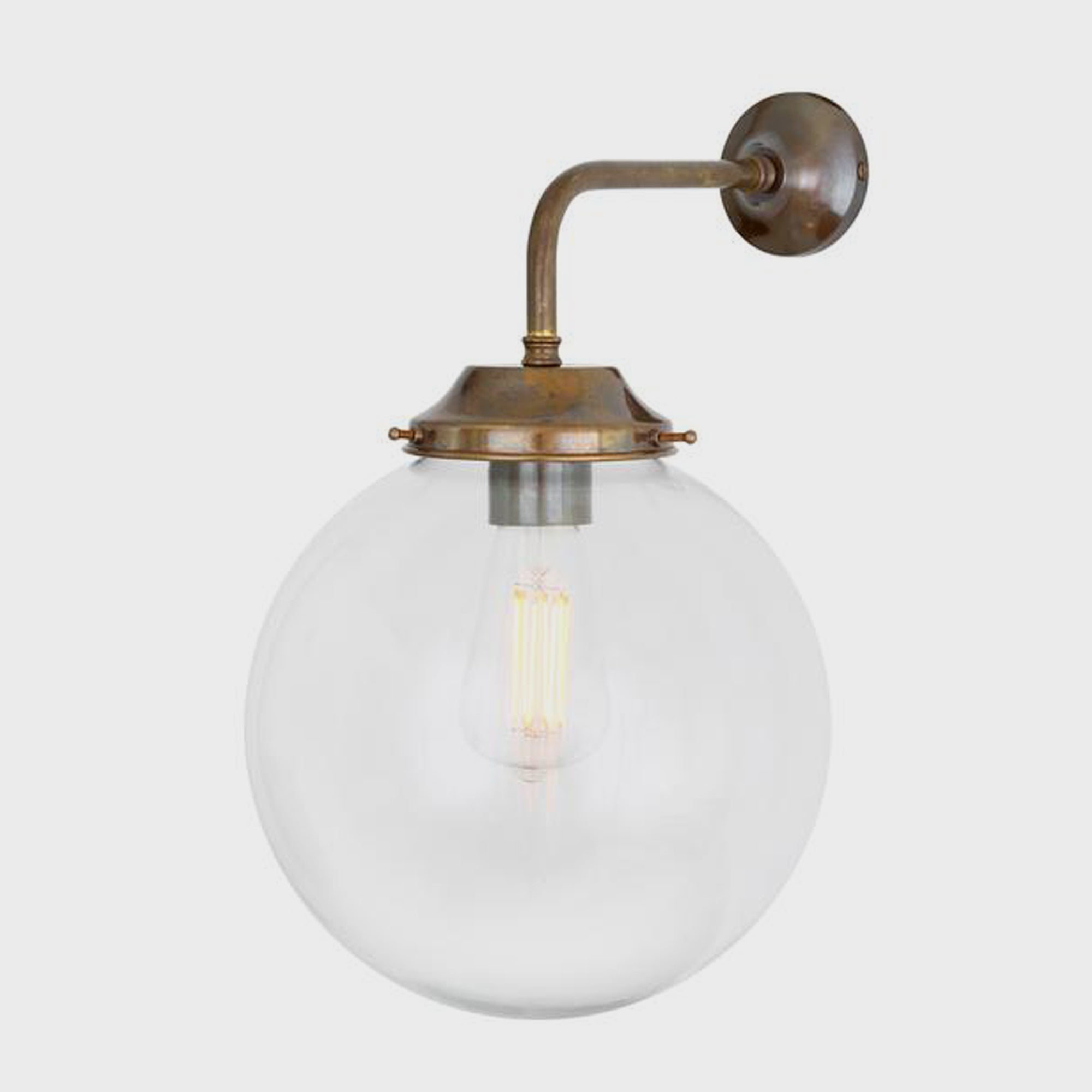 Globe Wall Light - Lighting - Designer - Sconces – Shoppe Amber Interiors