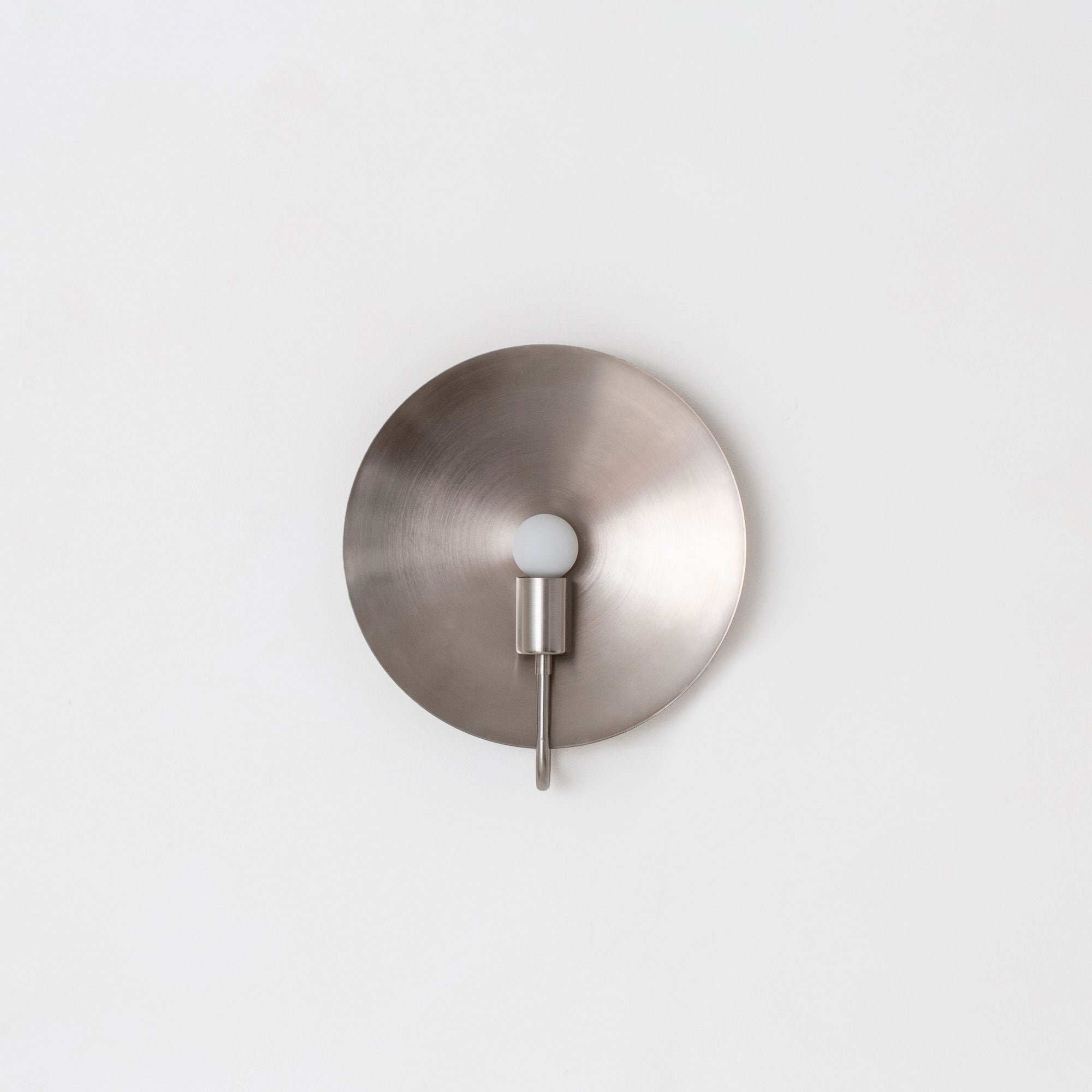 Helios ADA Sconce in Brushed Nickel - Lighting - Designer - Sconces – Shoppe Amber Interiors
