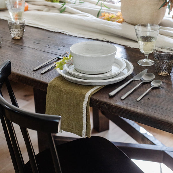 Chunky Linen Green Napkin - Unclassified – Shoppe Amber Interiors