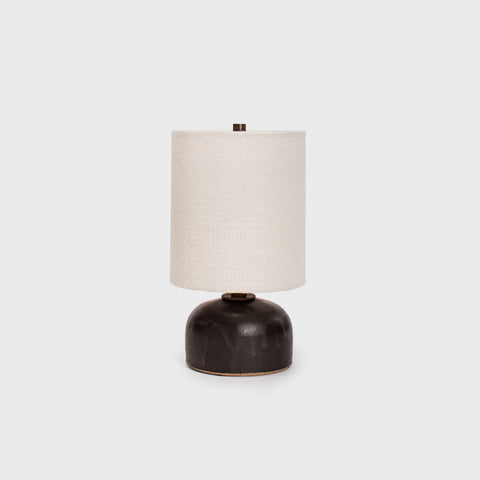 "Black ""Half Tab"" Mini Lamp by Victoria Morris"