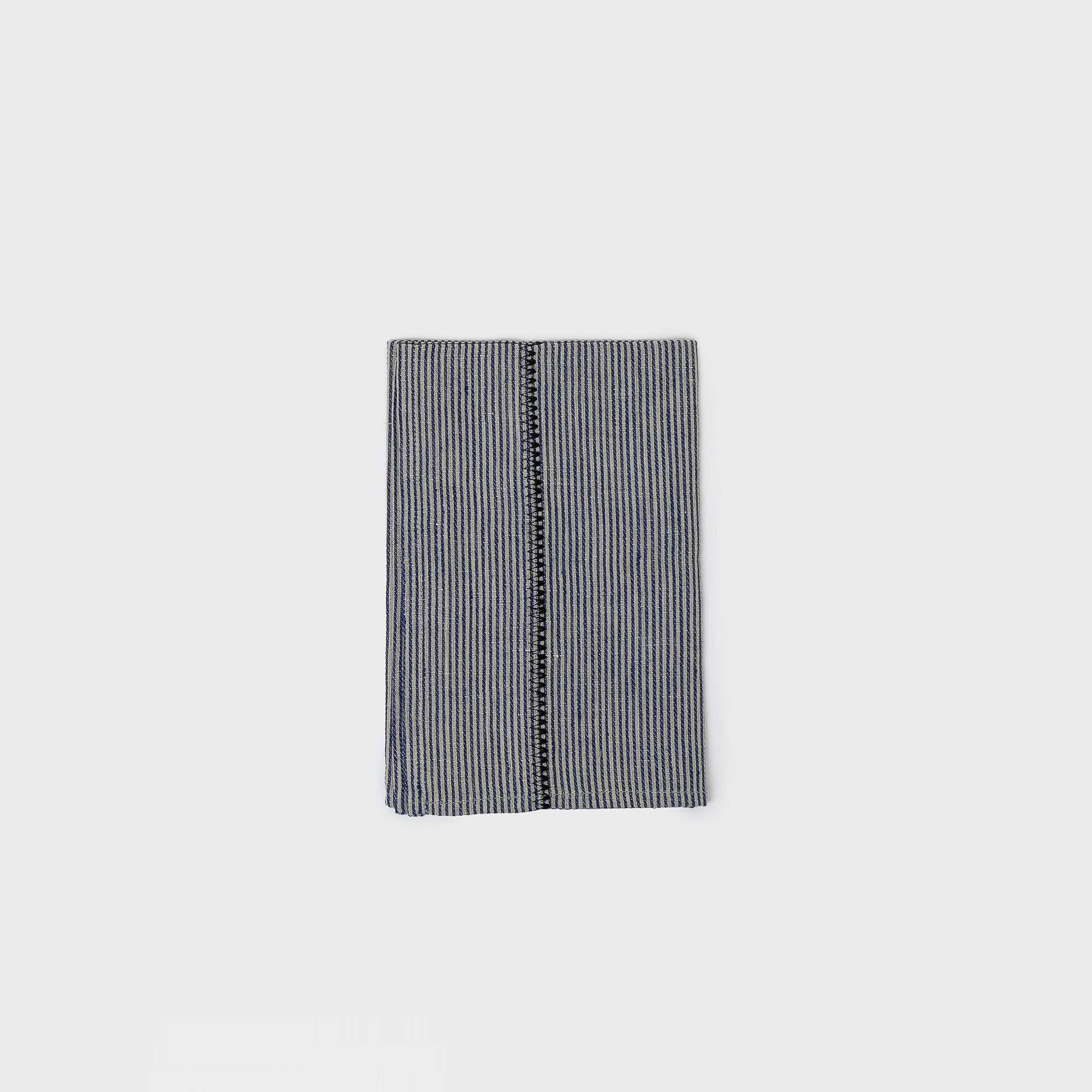Linen Stitch Chambray Stripe Napkins