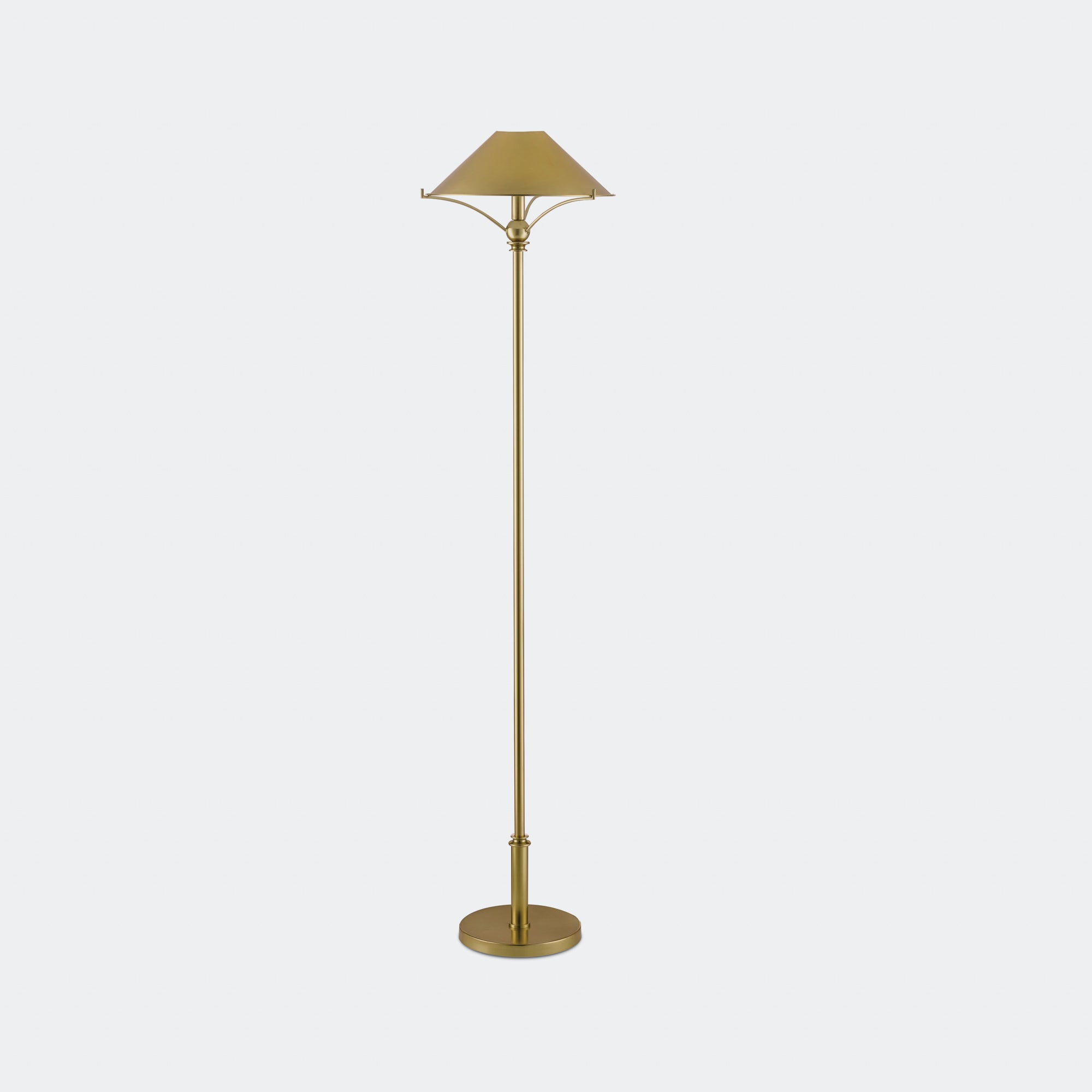 Musa Brass Floor Lamp -  – Shoppe Amber Interiors