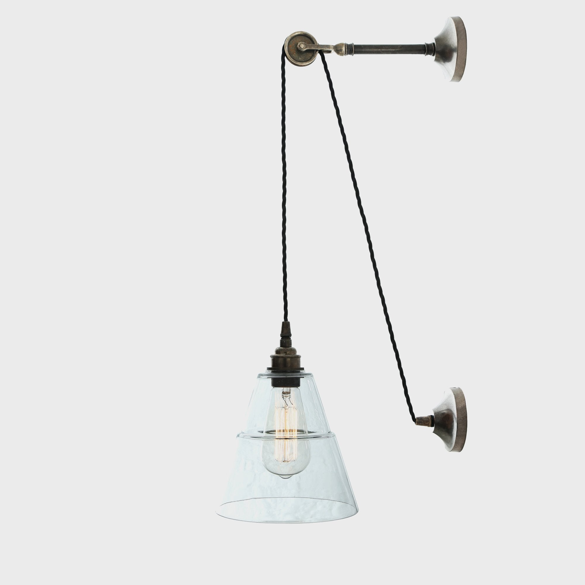 Rigale Coolie Pulley Wall Light