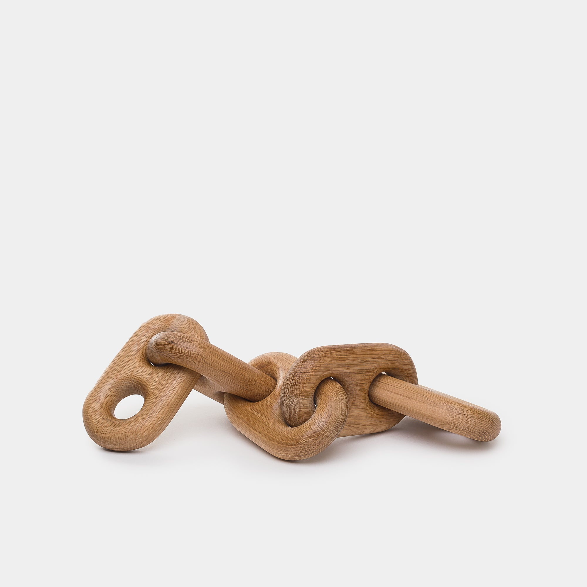 Oversized Wood Link Chain - Made by Shoppe - Furniture – Shoppe Amber Interiors