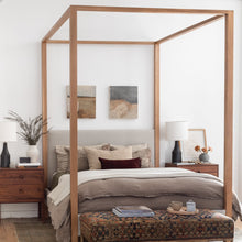 Load image into Gallery viewer, Briyana Bed - Furniture - Line - Bed – Shoppe Amber Interiors