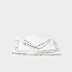 Queen Flat Sheet  by Kerry Cassill - Bedding - Sheets – Shoppe Amber Interiors