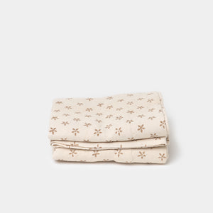 Daisy Gold & Natural Pillowcase Set of 2 - Bedding - Pillow Cases – Shoppe Amber Interiors