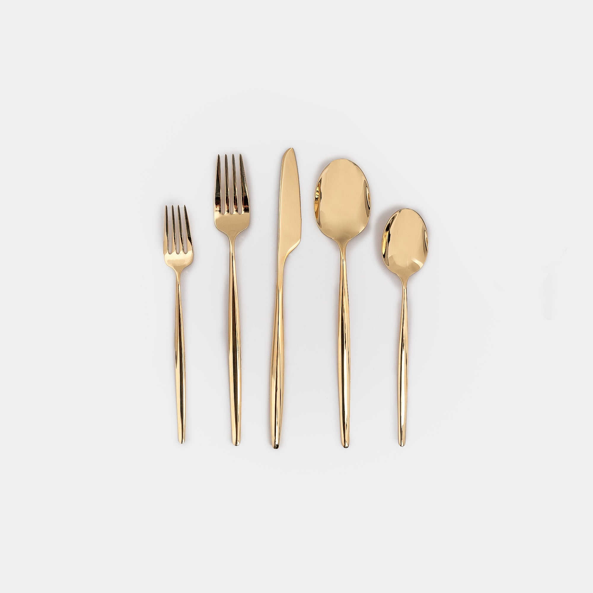Solo Gold Flatware
