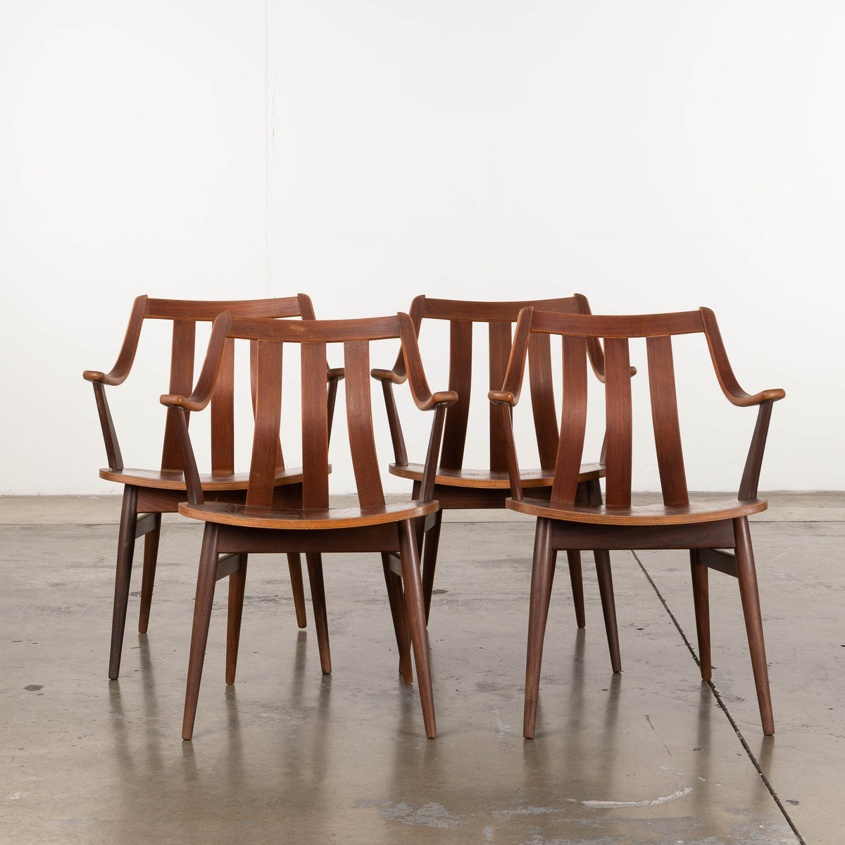 Load image into Gallery viewer, Wooden Dining Chair Set I