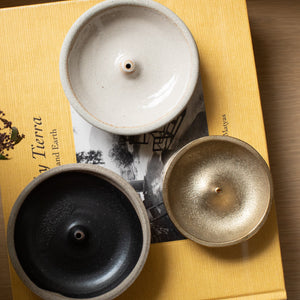 Shino Incense Holder