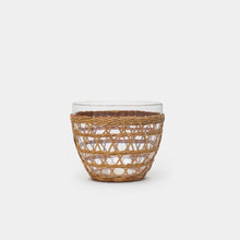 Load image into Gallery viewer, Rattan Cage Salad Bowl Large
