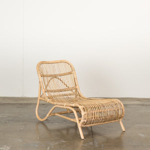 Rattan Lounger Natural
