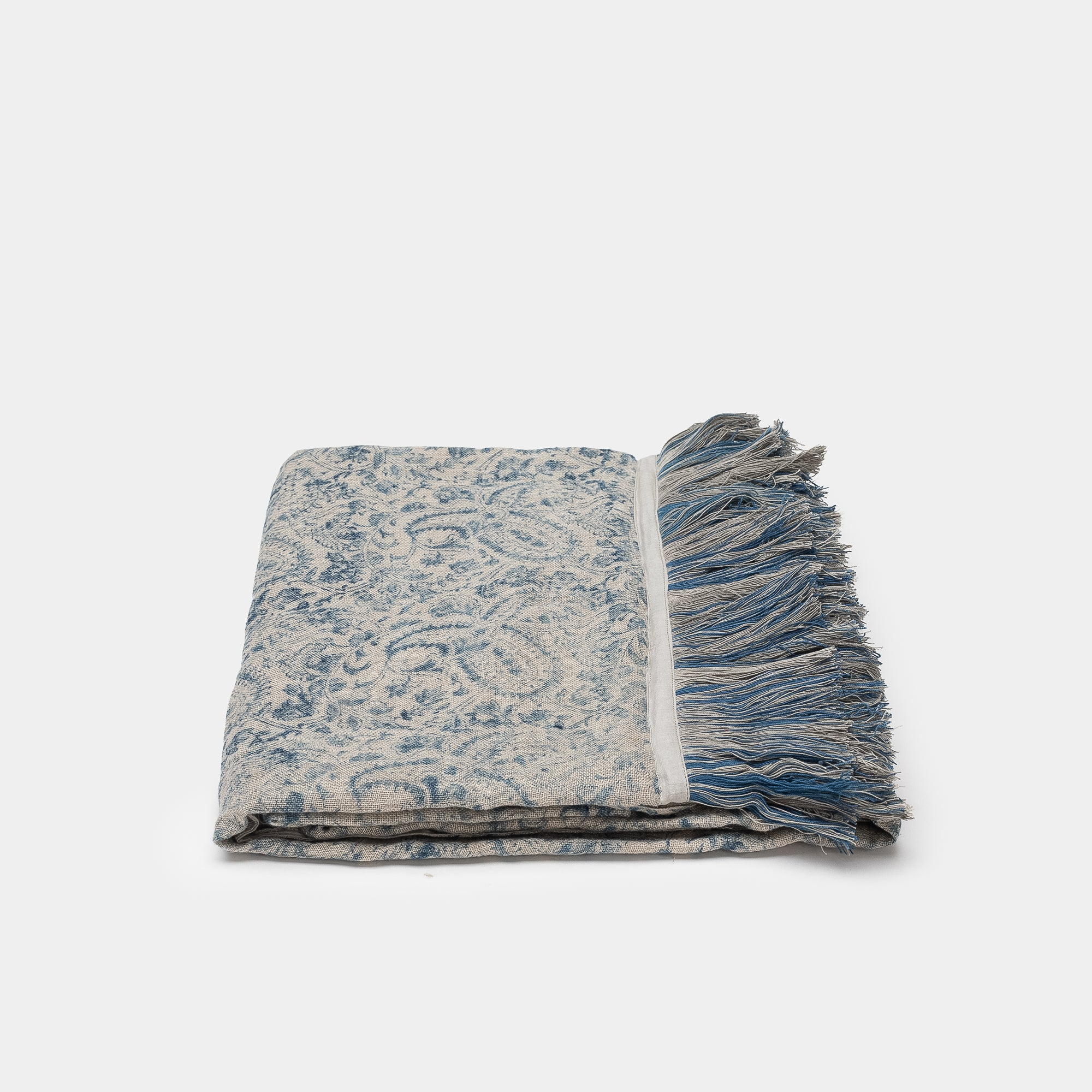 Meenakshi Indigo Throw