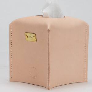 The Amber Tissue Box Made by Shoppe