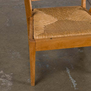 Spindle Back Rush Chair