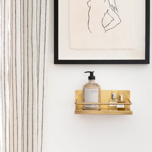 Brass Shelf - Home Accessories - Misc – Shoppe Amber Interiors