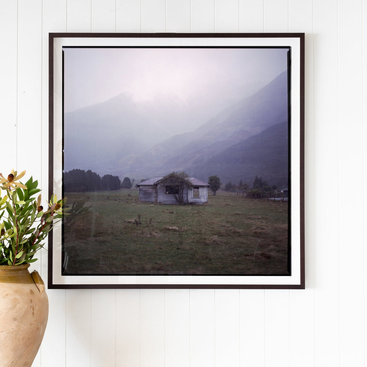 Load image into Gallery viewer, NZ Shack - Artwork - Original – Shoppe Amber Interiors