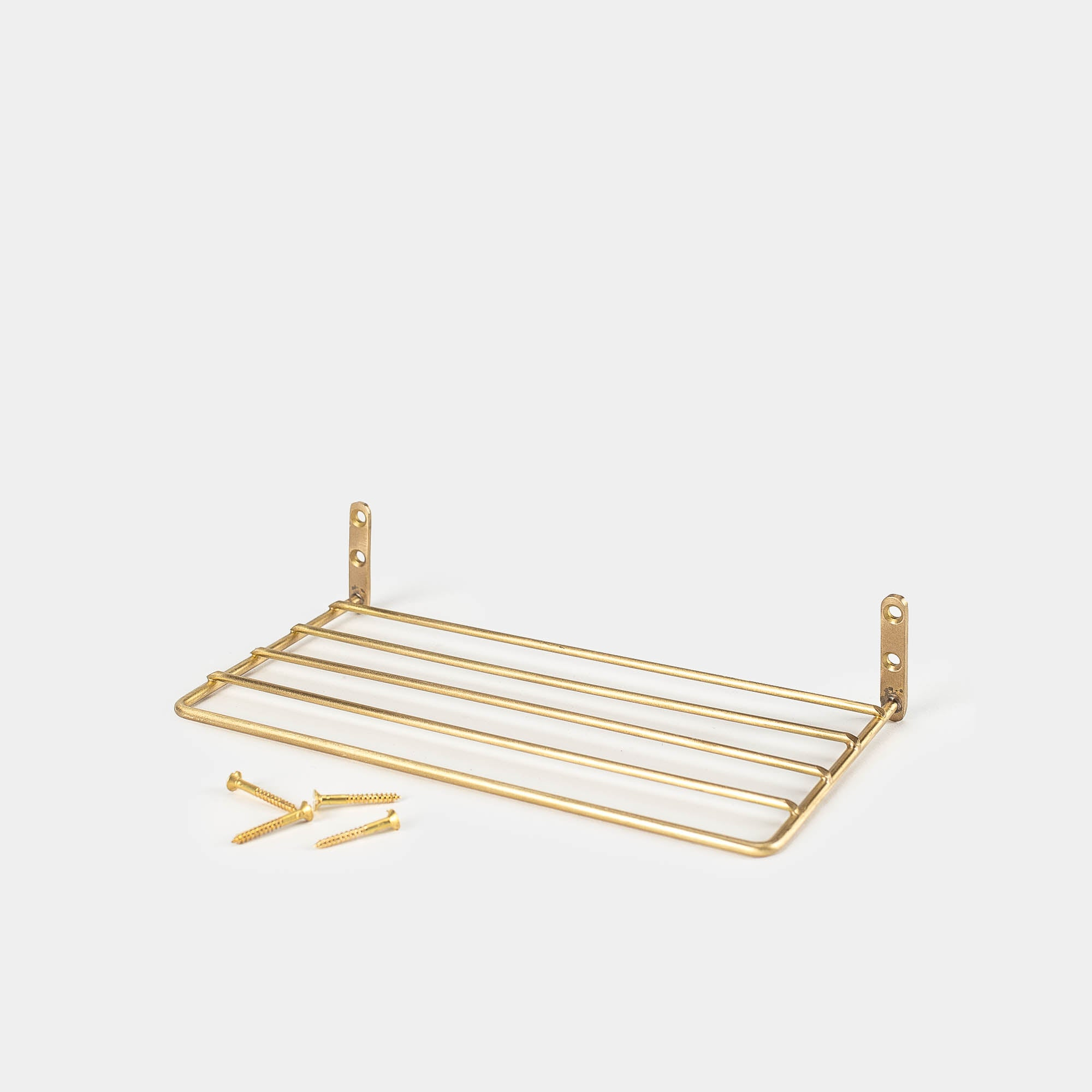 Brass Wire Shelf