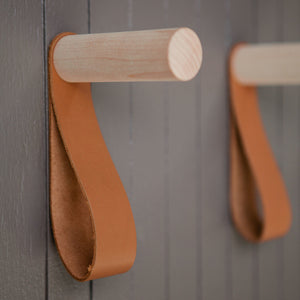 Teddy Hook in Maple/Brown - Home Accessories – Shoppe Amber Interiors