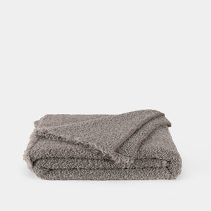 Kurlisuri Dark Grey Throw