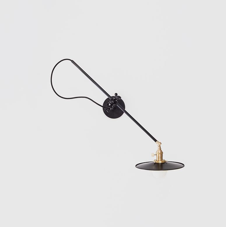 Wall Lamp in Black - Shoppe Amber Interiors