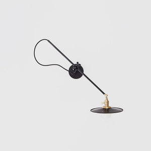 Wall Lamp in Black - Lighting - Designer – Shoppe Amber Interiors