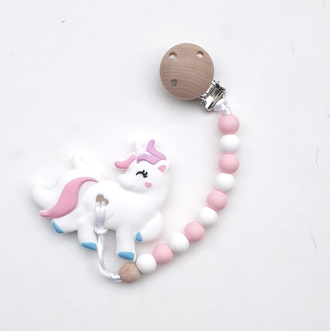 POPSICLE Unicorn with Pacifier Clip