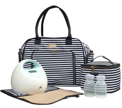 Bebe Chic Manhattan Deluxe Breast Pump Bag