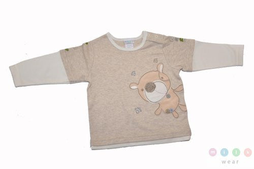 Milk Wear Long Sleeves Tee 3-6 mos