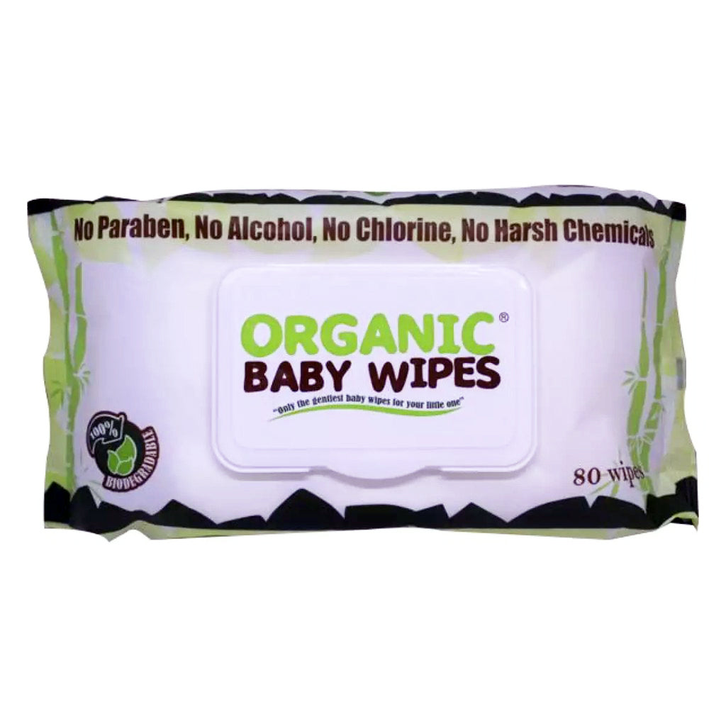 Organic Wipes 80s (with cap)