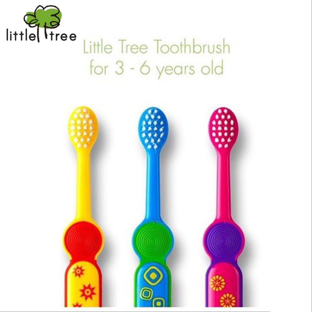 Little Tree Toothbrush (3 to 6 years old)