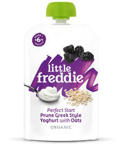 Little Freddie Perfect Start Prune Greek Style Yoghurt with Oats