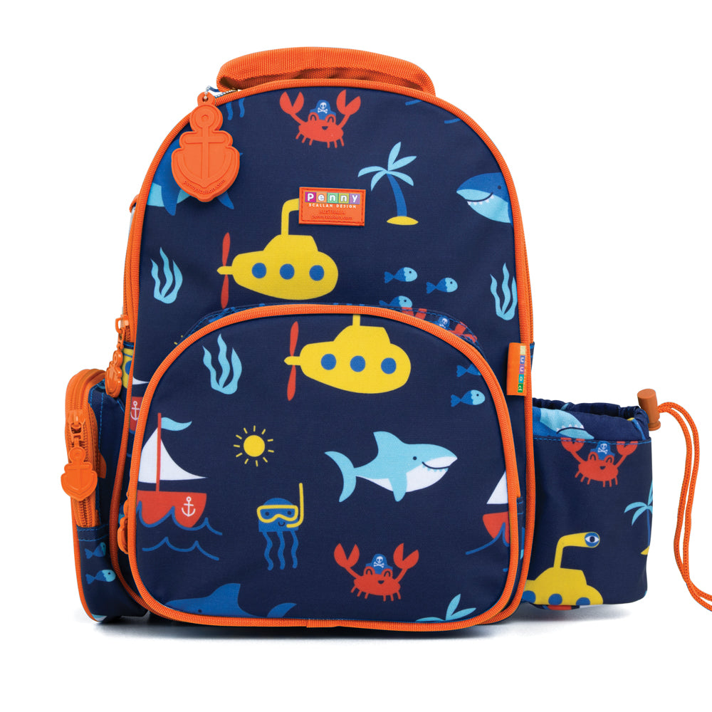 Penny Scallan Medium Backpack - Anchors Away