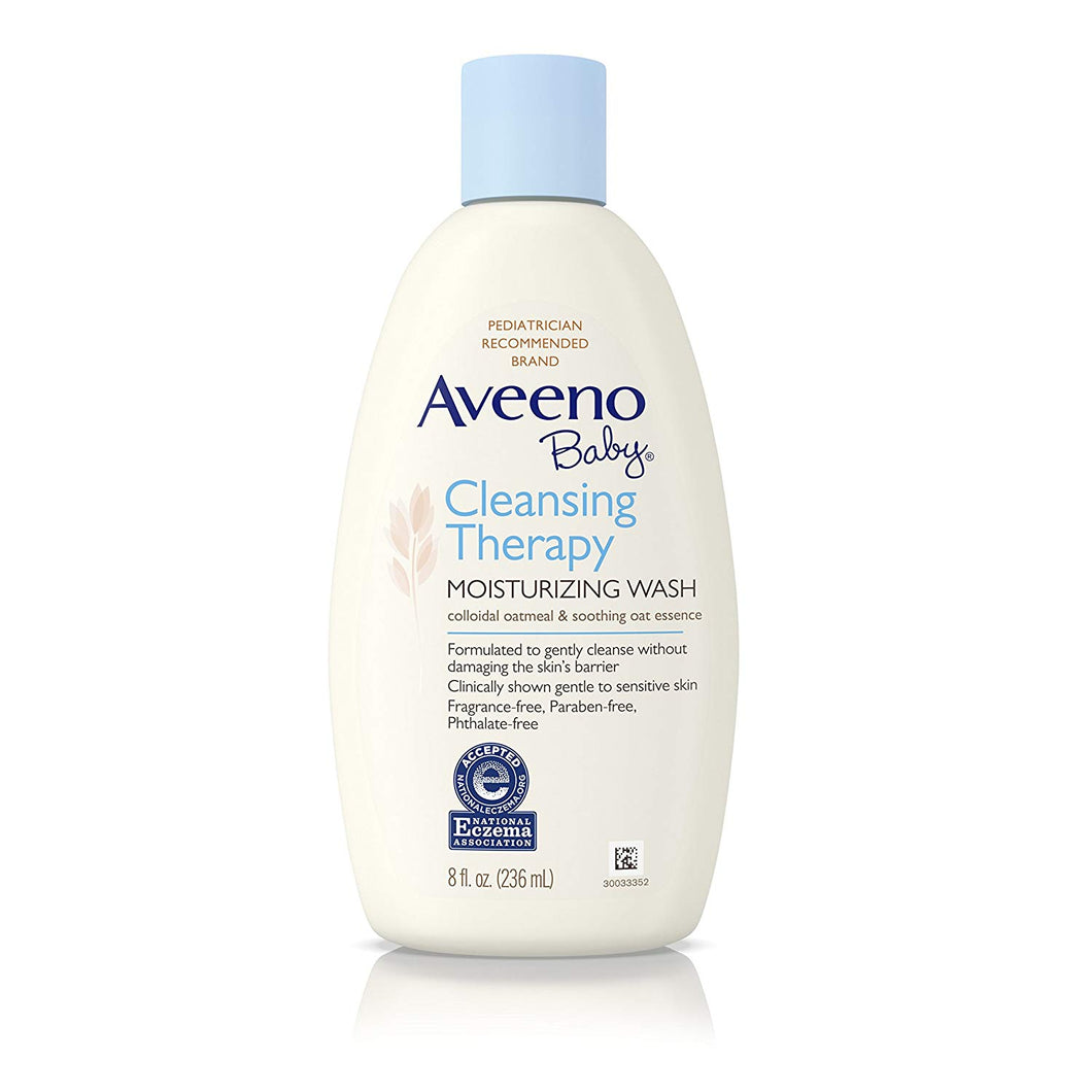 Aveeno Baby Cleansing Therapy Moisturizing Wash 236ml