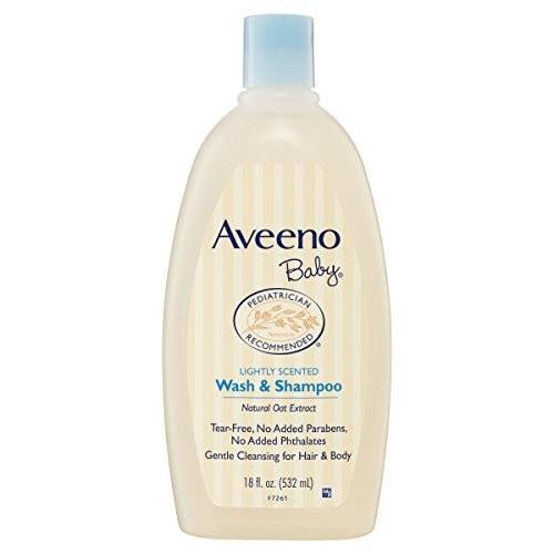Aveeno Baby Wash and Shampoo 18 fl. oz.