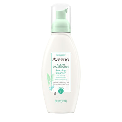 Aveeno Clear Complexion Foaming Cleanser 6oz