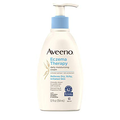 Aveeno Eczema Therapy Moisturizing Cream 12 fl. oz.