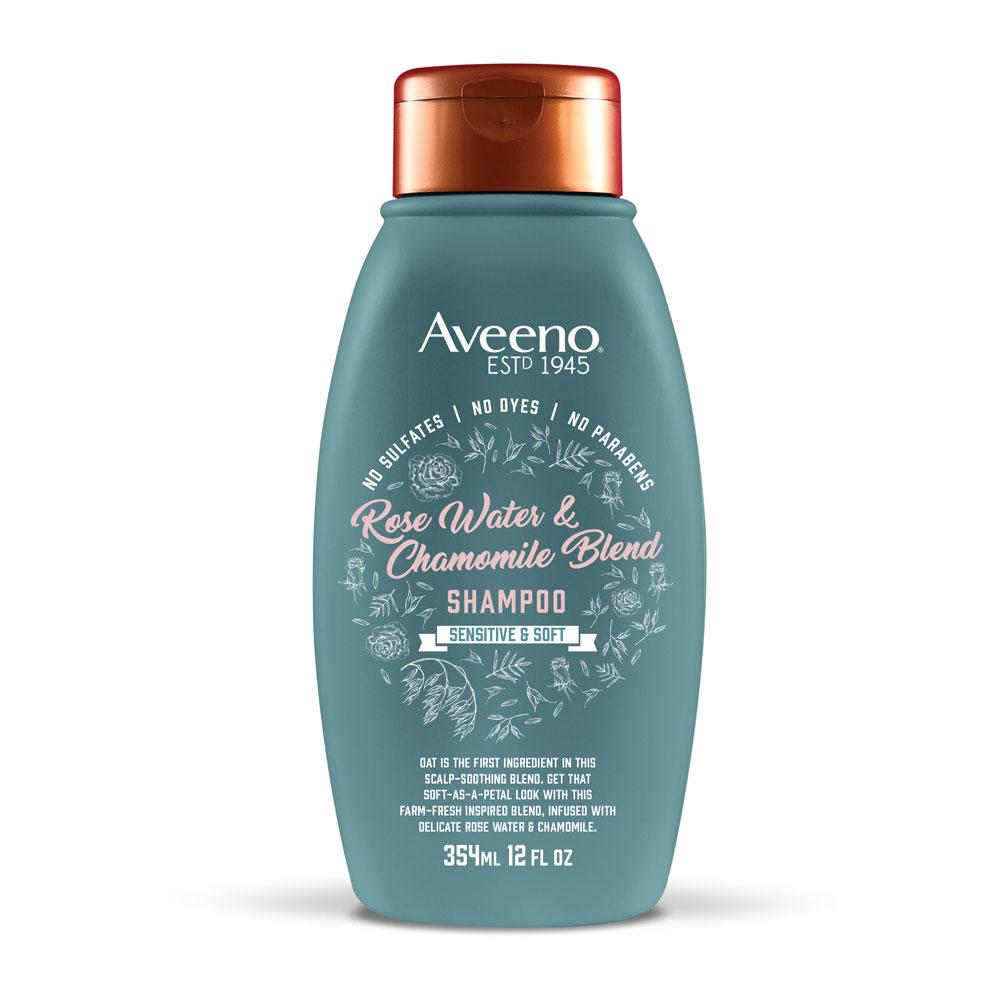 Aveeno Rosewater and Chamomile Blend Shampoo 12 fl. oz.