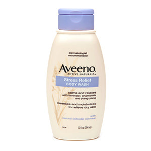 Aveeno Stress Relief Body Wash 12 oz