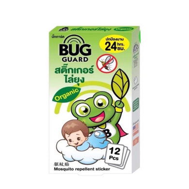 Happy Noz Bug Guard Innovative Mosquito Repellant Sticker 12pc