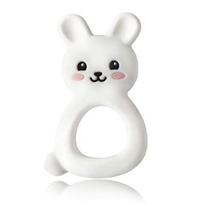 Popsicle White Bunny Teether