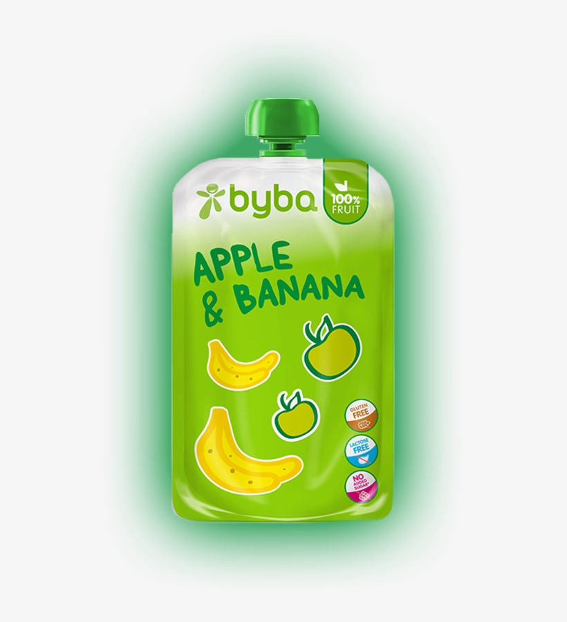 Byba Apple and Banana 120 g