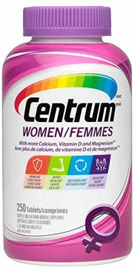 Centrum For Women - 250 Tablets