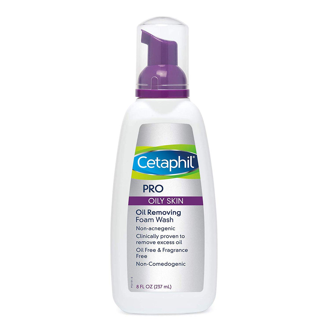 Cetaphil Pro Oil Removing Foam Wash 8 oz