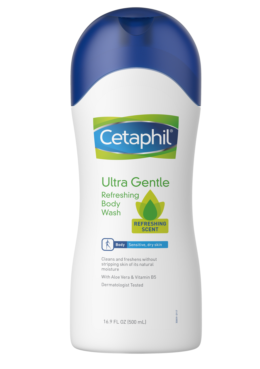 Cetaphil Ultra Gentle Refreshing Body Wash 16.9 fl oz