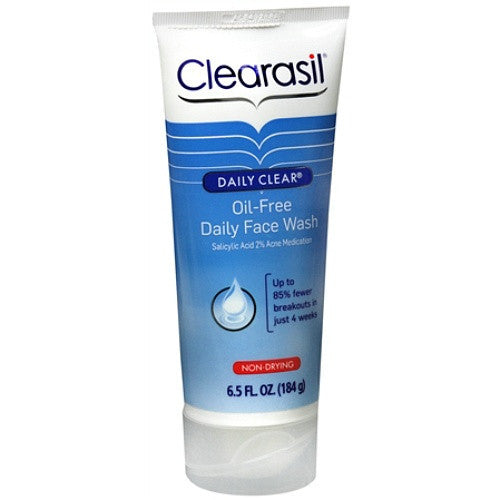 Clearasil Daily Clear Oil-Free Daily Face Wash (Non-Drying) 7.8 oz (20% more)