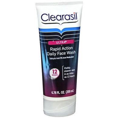 Clearasil Ultra Daily Face Wash 8.1 oz (20% more)