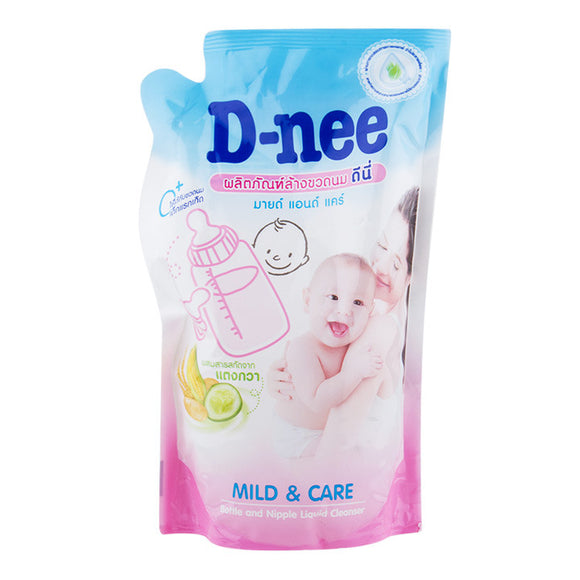 D-Nee Bottle Nipple Cleanser Refill Pouch - 600mL