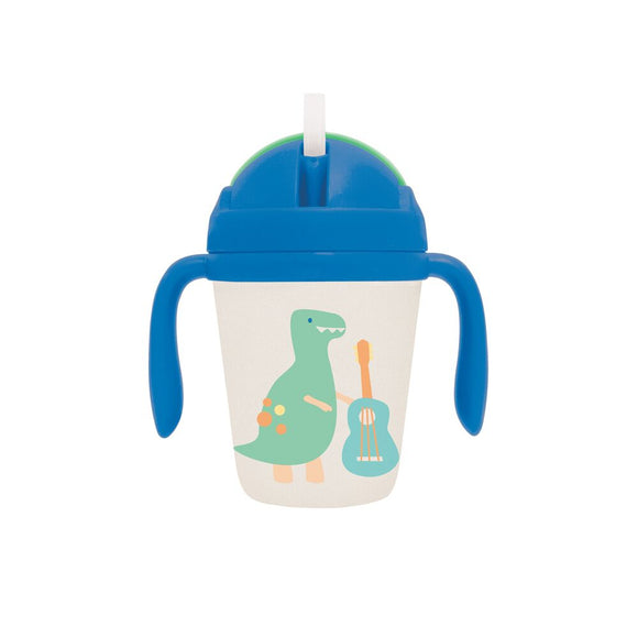 Penny Scallan Bamboo Sippy Cup - Dino Rock
