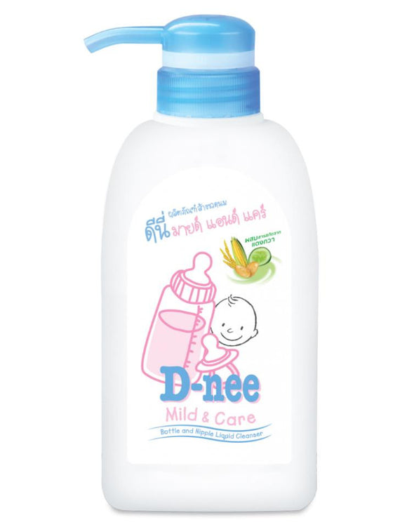 D-Nee Bottle Nipple Cleanser 500mL Pump
